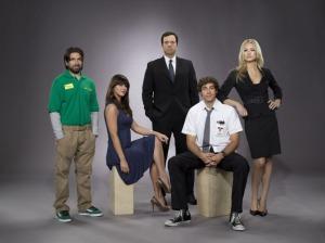 Morgan, Ellie (la hermanísima), Casey, Chuck y Sarah